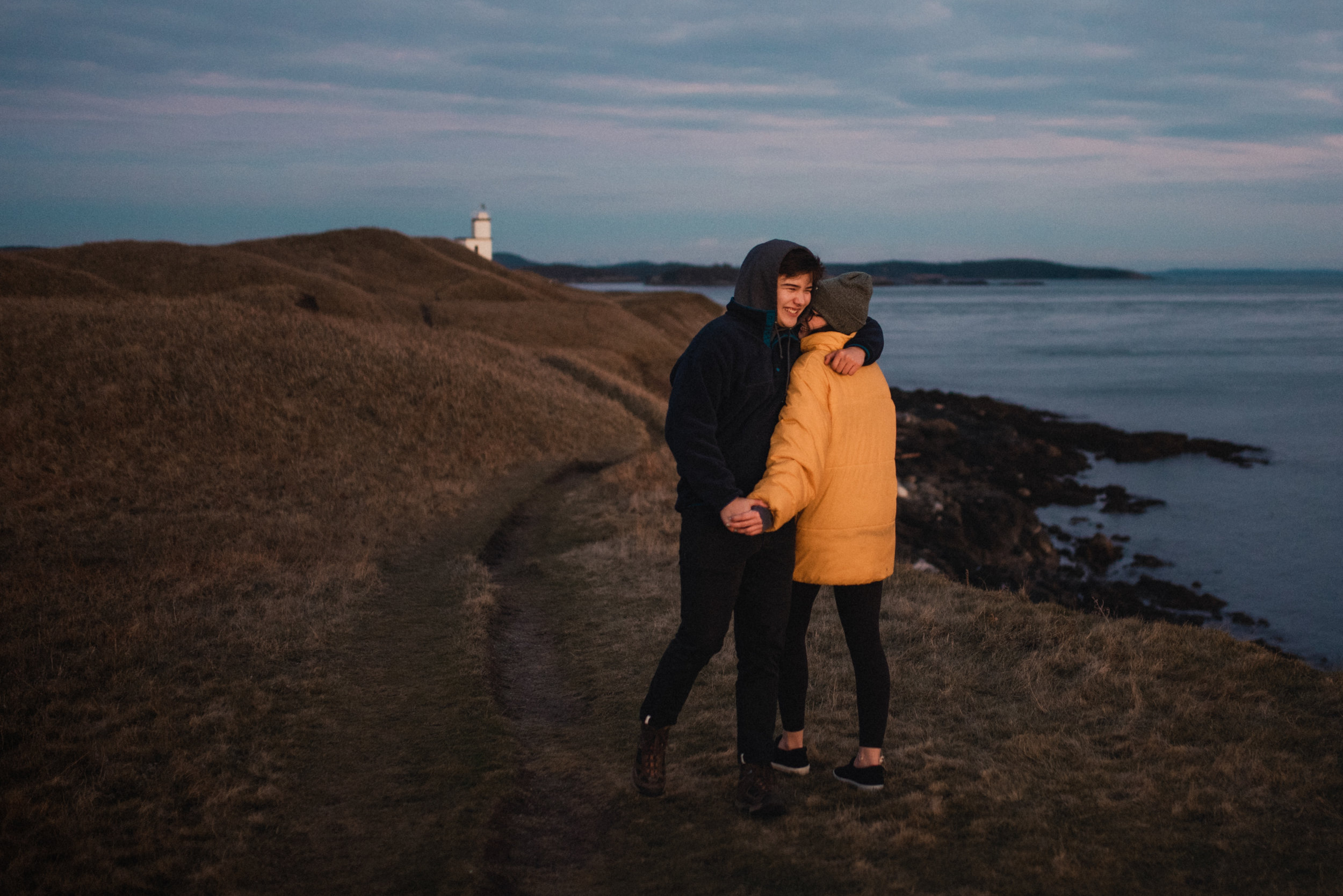A couple who let me photograph them at Cattle Point