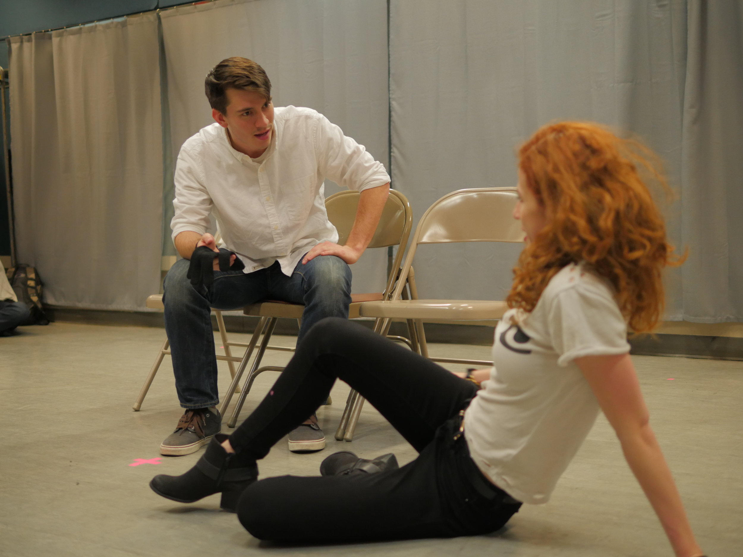 A Crisis Called New York     Glove  with Hannah Karpenko at Theatre Row
