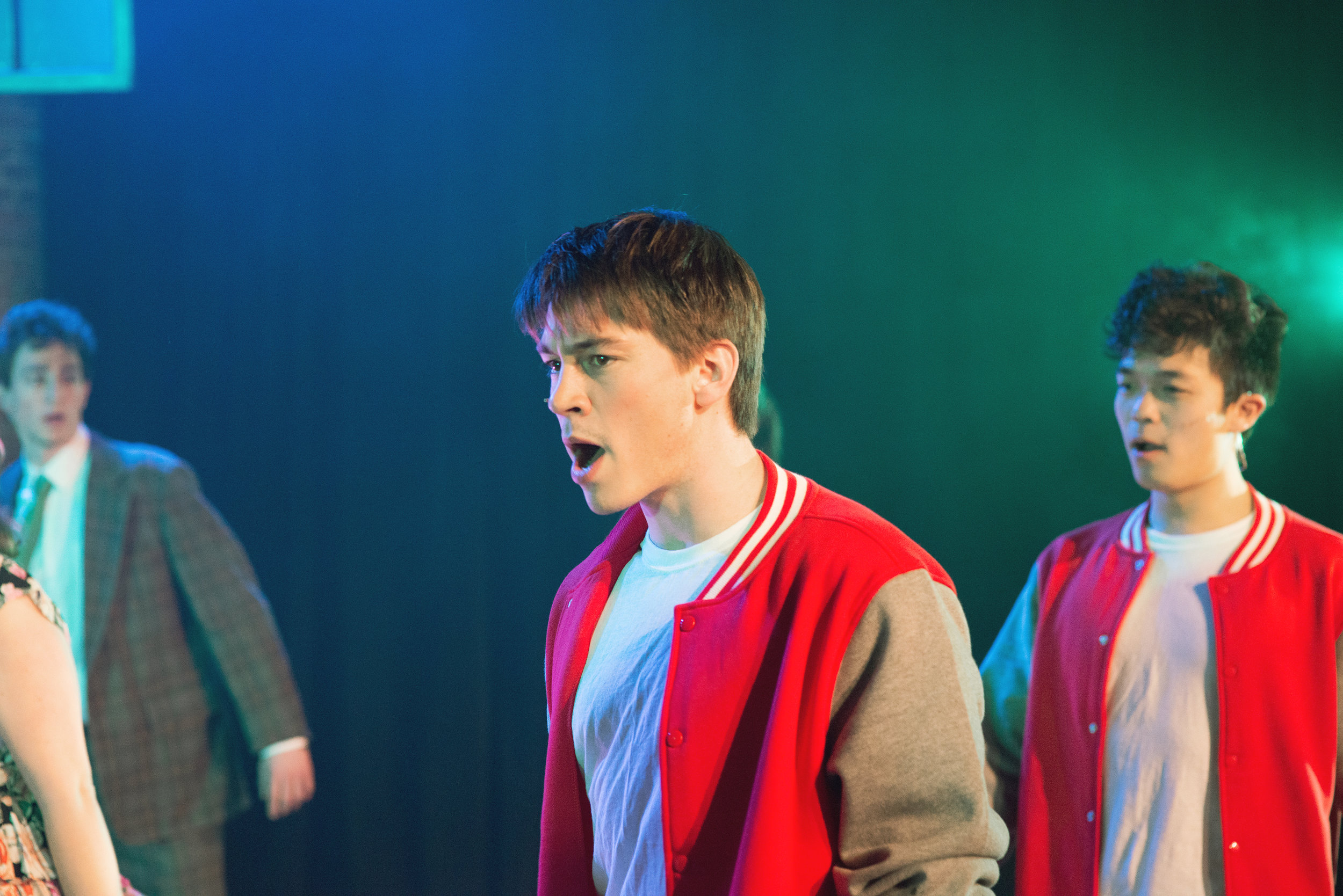 Heathers    Kurt Kelley  with James Lee at the Off Broadway Theatre