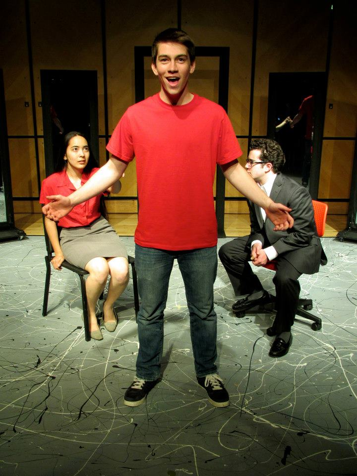 Next to Normal  || Gabe Goodman  with Rachel Goldstein and Skyler Ross at the Saybrook Underbrook