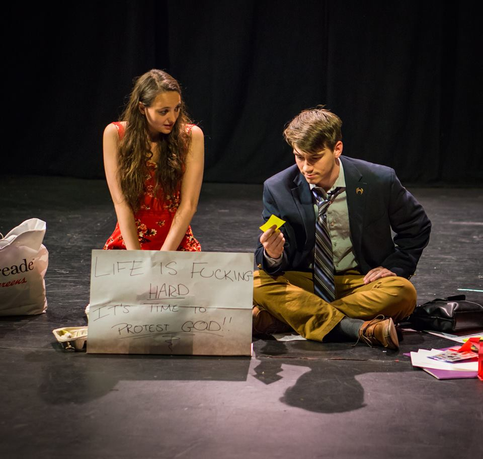 A Philosophical Protest  || Mr. Abbatelli  with Camilla Crawford at LATEA Theater