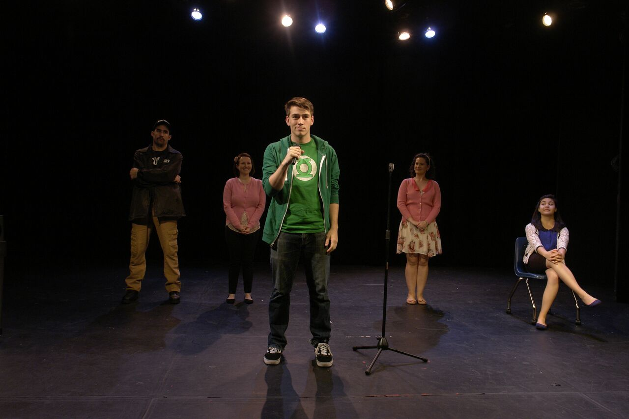 Buffalo Heights  || Connor Smith  with Patrick Truhler, Jake Lipman, Maria Maloney, and Brittney Liu at LATEA Theater