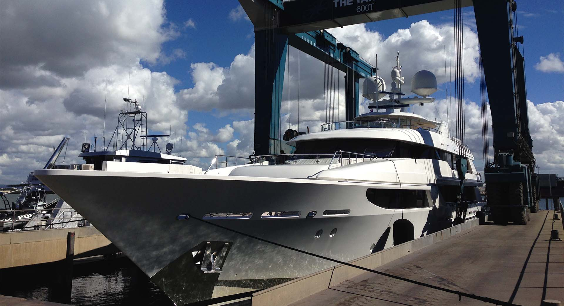 Copy of Superyacht Marina and Services Brisbane