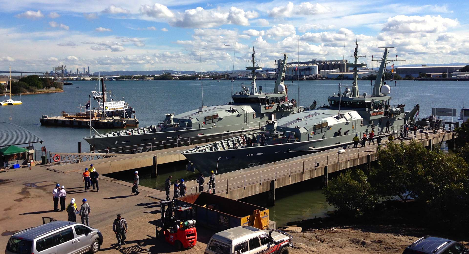 Marine services Queensland