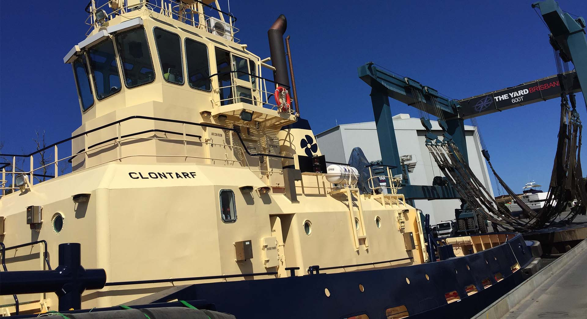 Commercial marine services Queensland
