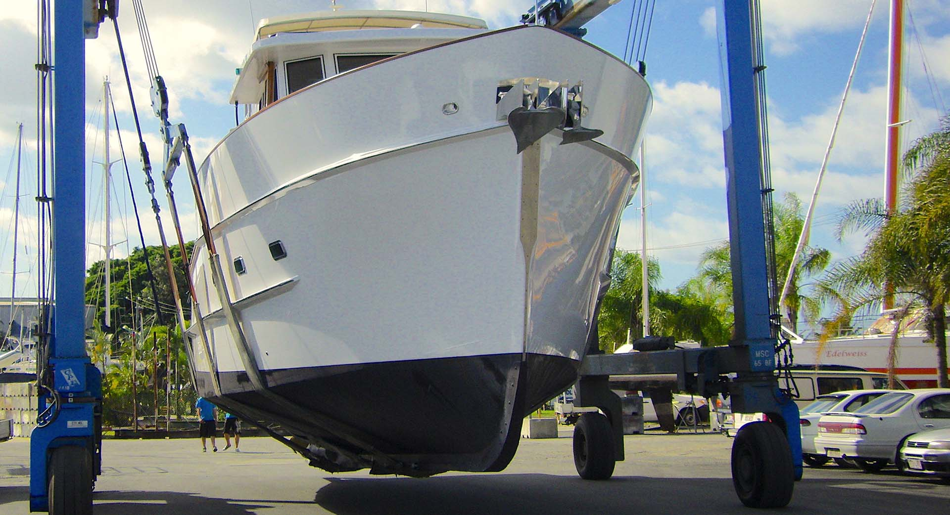 Boat yard services Queensland