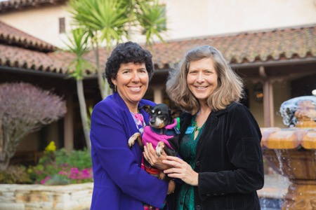 Monica Rua and Carie Broecker, Co-Founders of Peace of Mind Dog Rescue