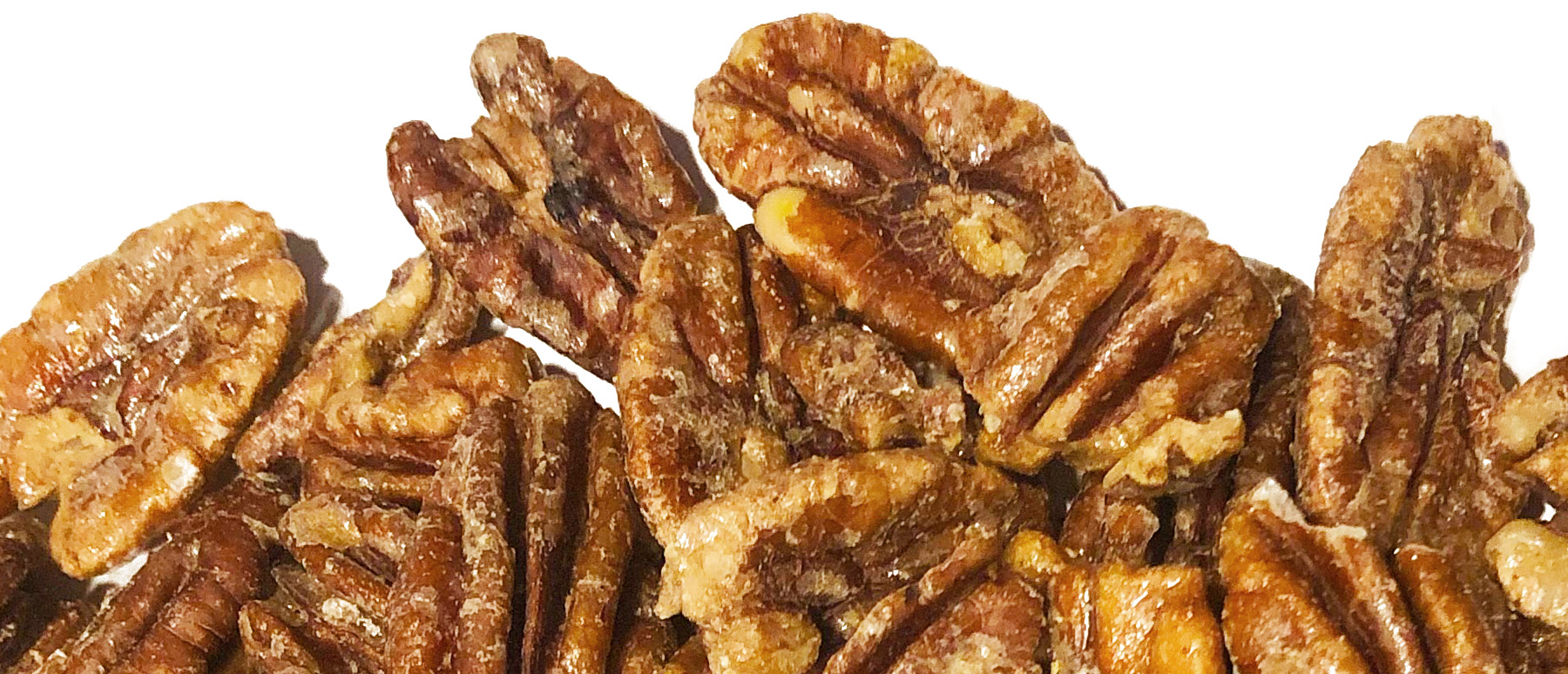 Maple Pecan - One sweet 'n' savory snack from simple ingredients like organic sprouted pecans, maple syrup, and vanilla extract