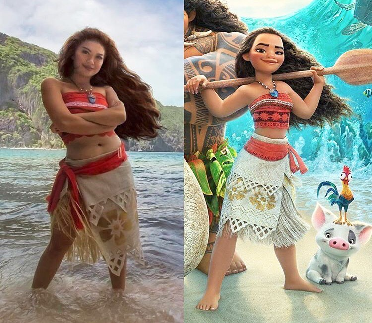 Filipina-Canadian artist Gladzy Kei's Moana-inspired fashion became a viral hit for her spot-on and creative cosplay of Disney's Polynesian heroine.