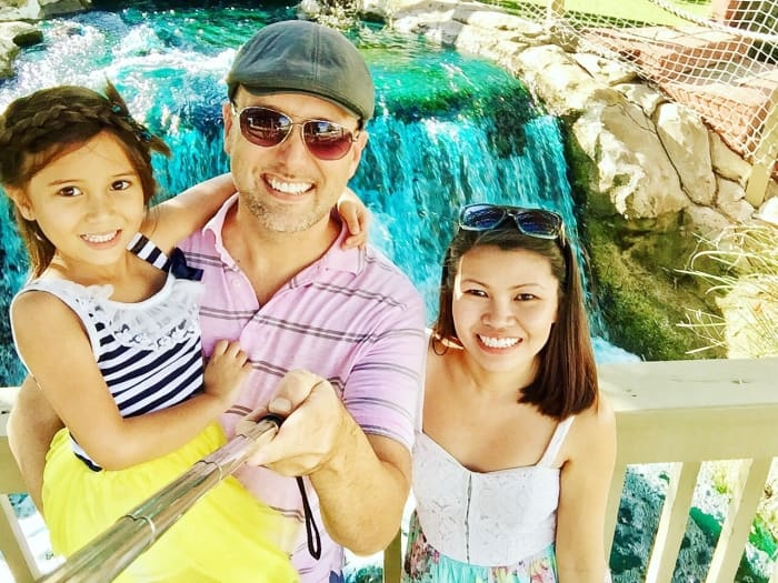 A Lovely weekend calls for a family trip down to the amusement park at clearwater, florida.