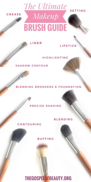 Need a makeup brush cheat sheet? Here's a quick guide to help you find the right brush.