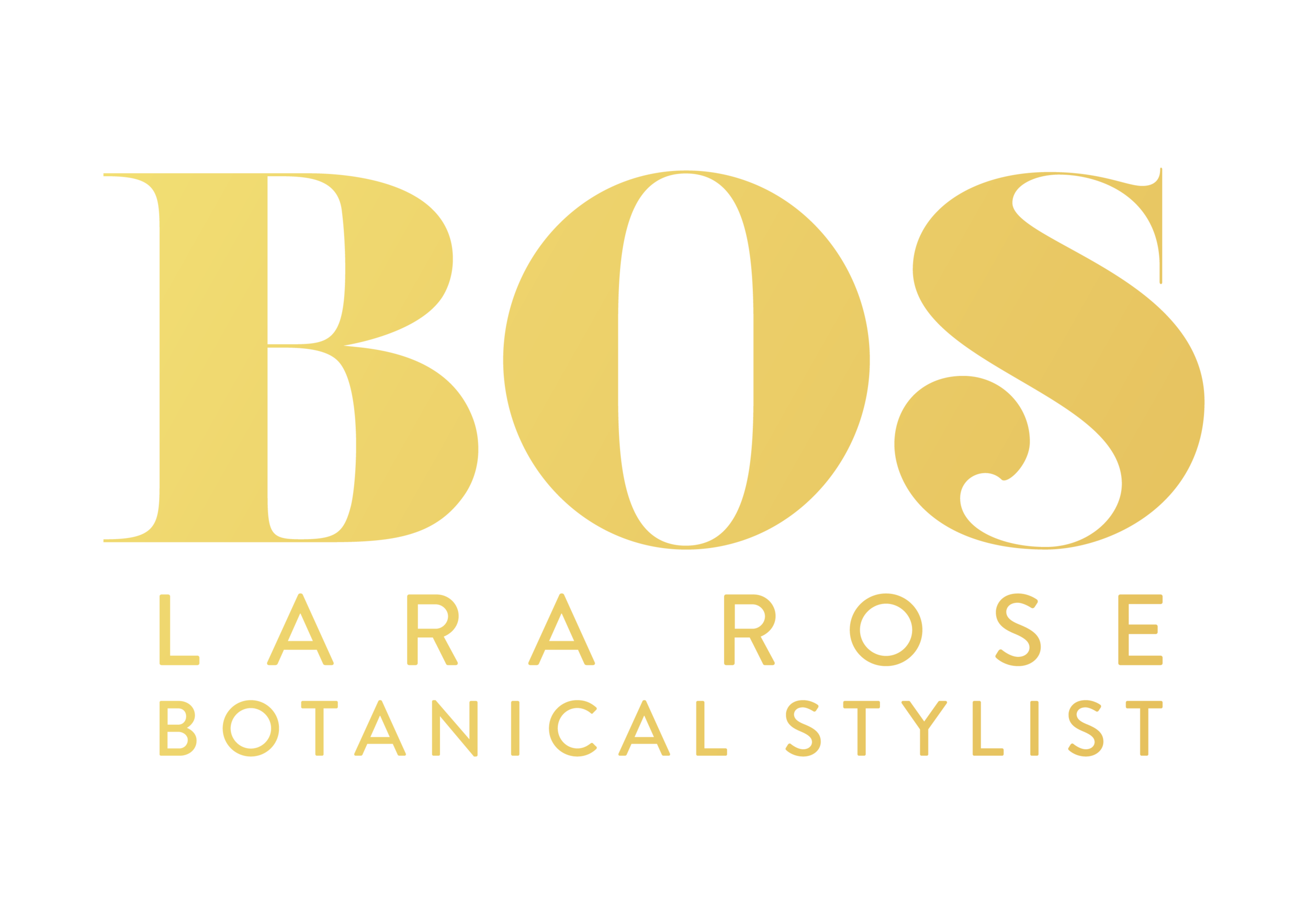 Jeremy Bos - Lara Rose Botanical stylist gold logo.png