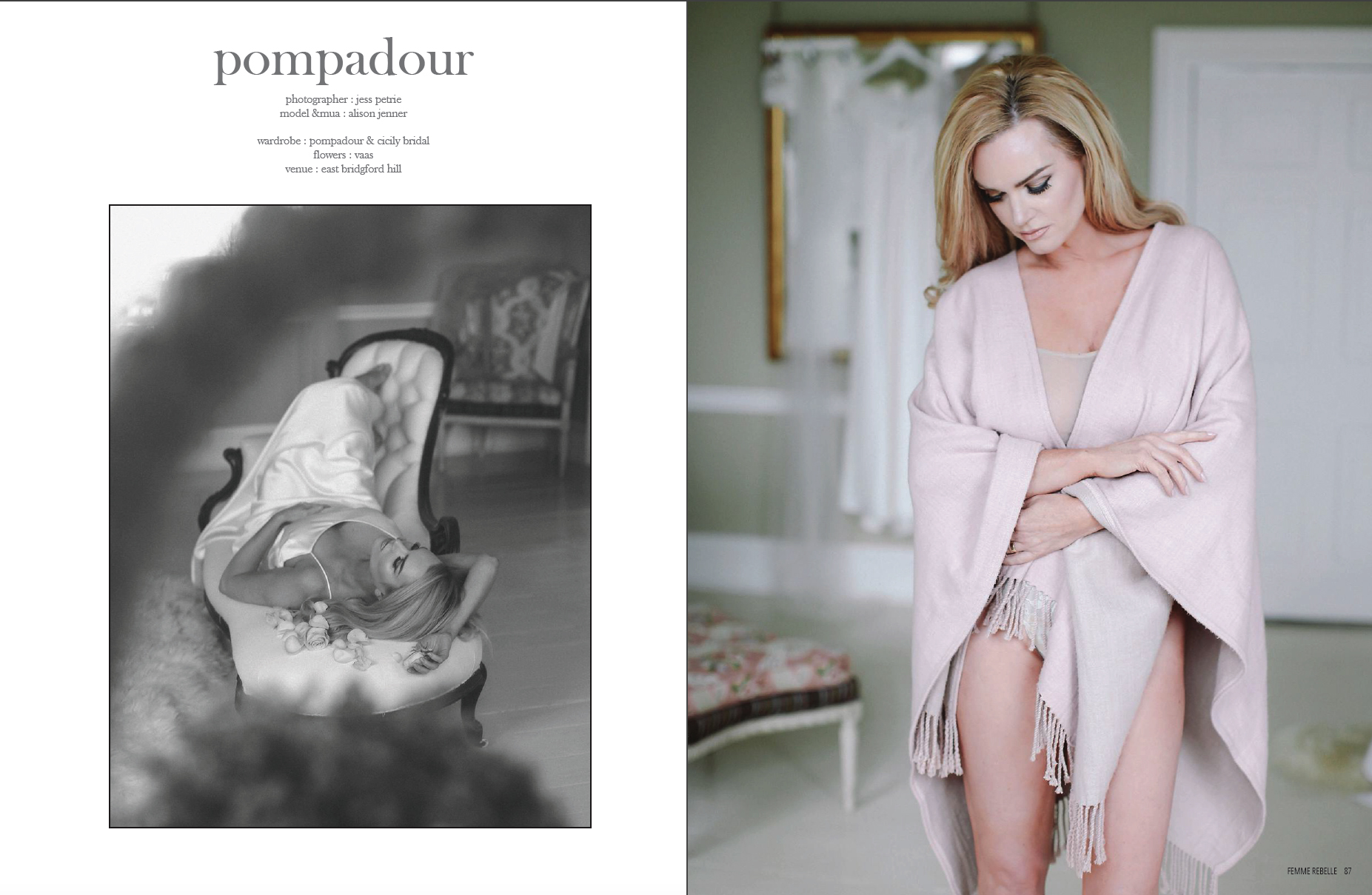 Published with Femme Rebelle Magazine