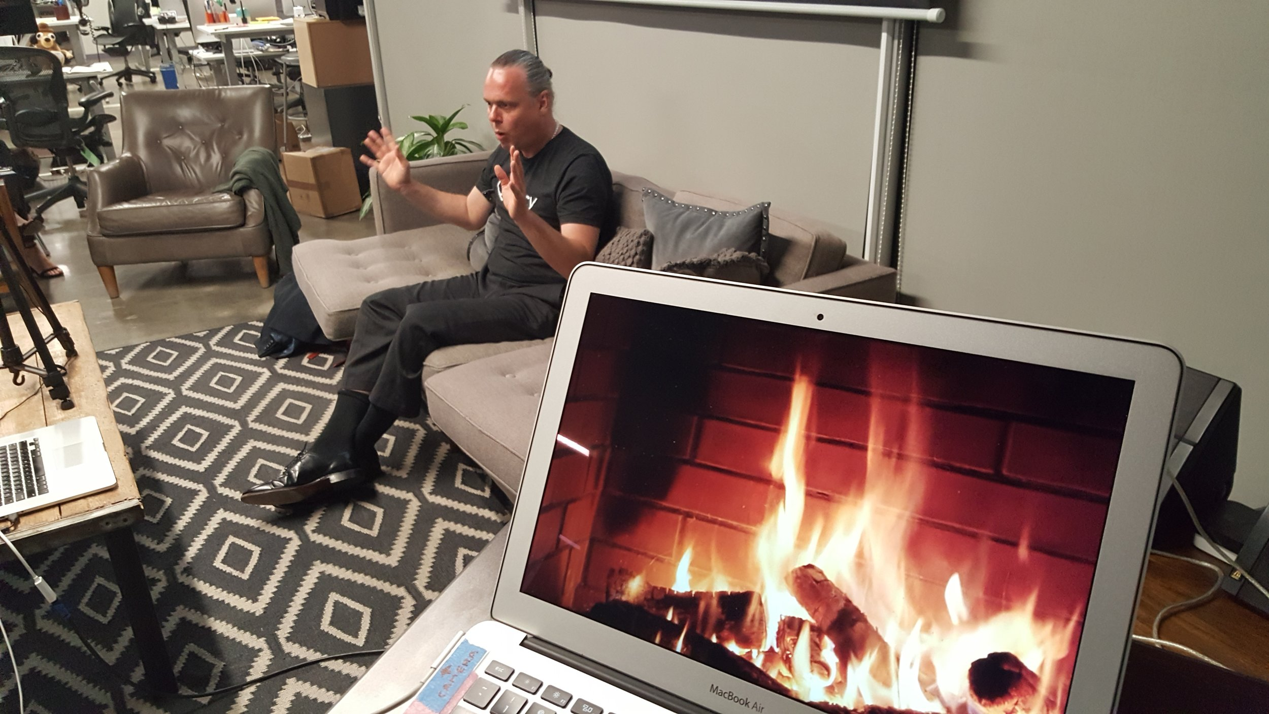 Fire side chat with Jeremy Hallett