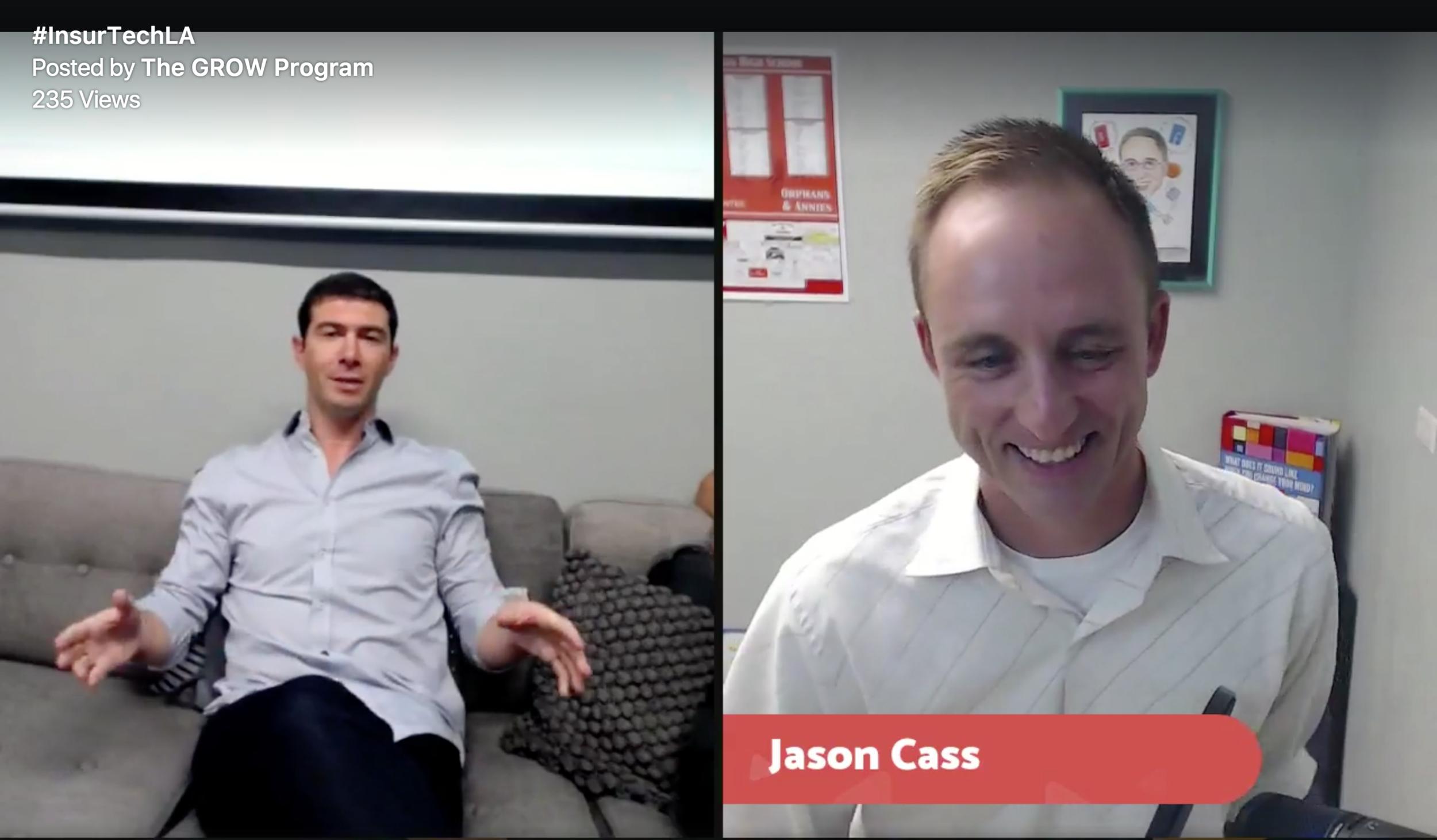 @LAinsurTech with Jason Cass