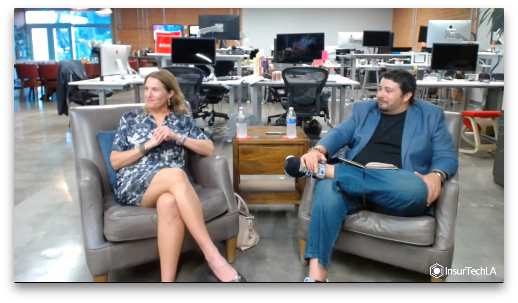 MARIEL DEVESA AND STEPHEN GOLDSTIEN
