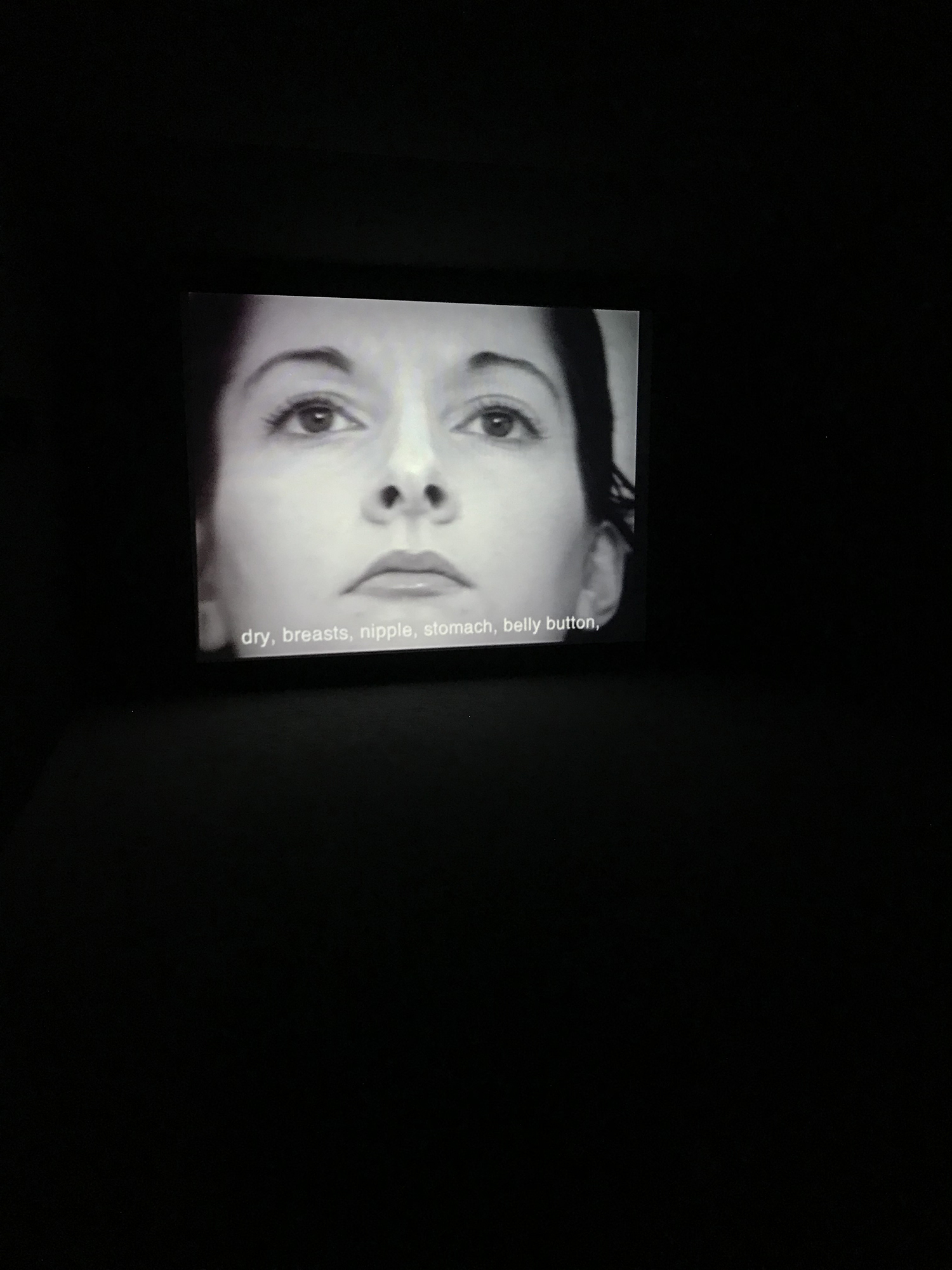 """Marina Abramovic """"Freeing the Voice"""" (1975), """"Freeing the Body"""" (1975) and """"Freeing the Memory"""" (1985) (Still)"""
