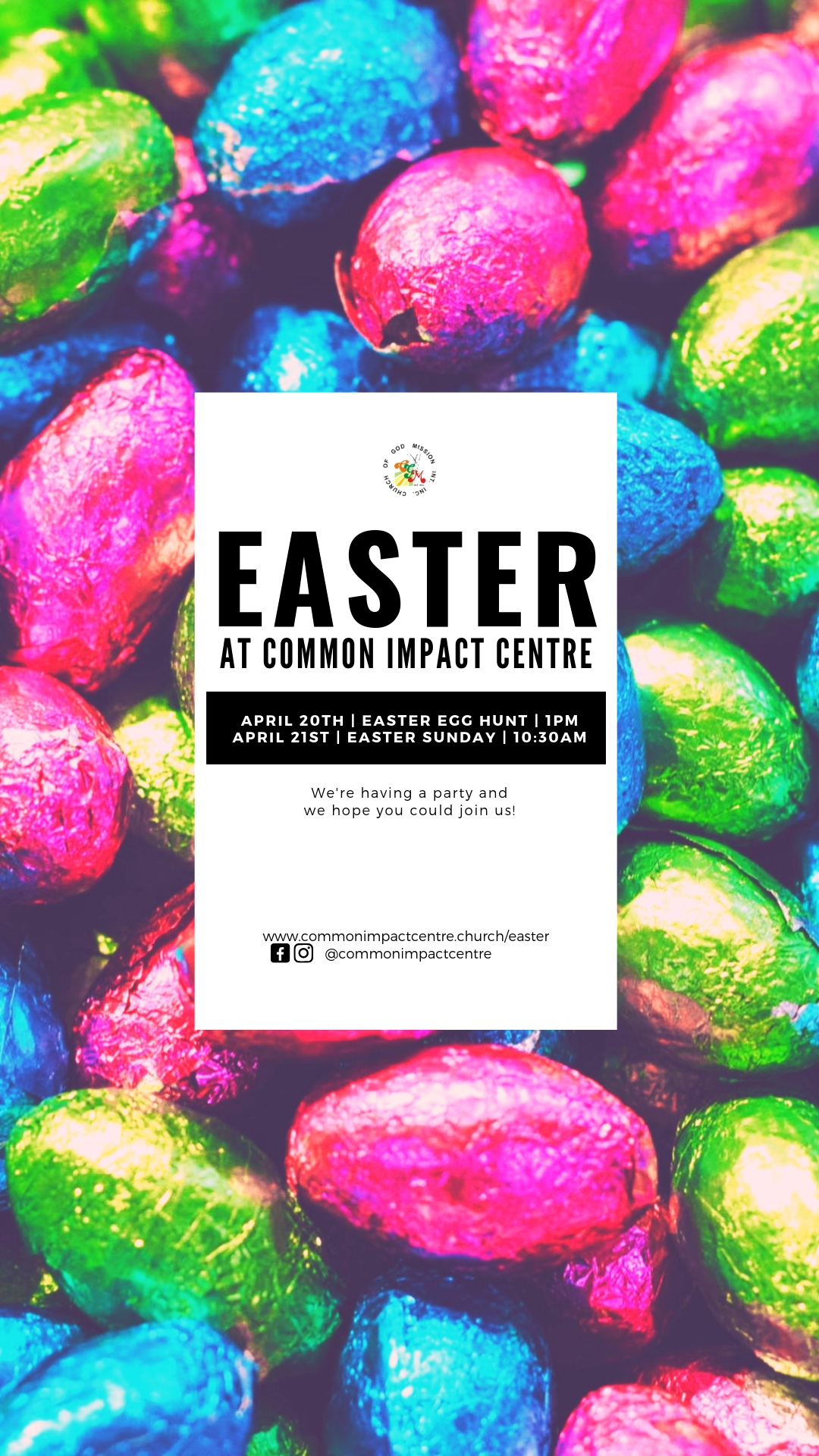 Celebrate Easter with us