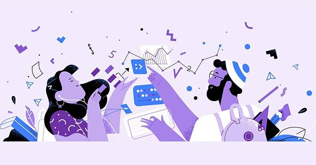 We decided to share some more illustrations from the recent project we made for @facebook 's Careers website Swipe for all the colours of the rainbow 🌈  Shout out to the talented designers on our team that helped us pull it off!  Produced with @hornetinc