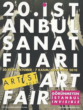 2010, 20th Istanbul Sanat Fuari Art Fair  ©Tuyap Artists