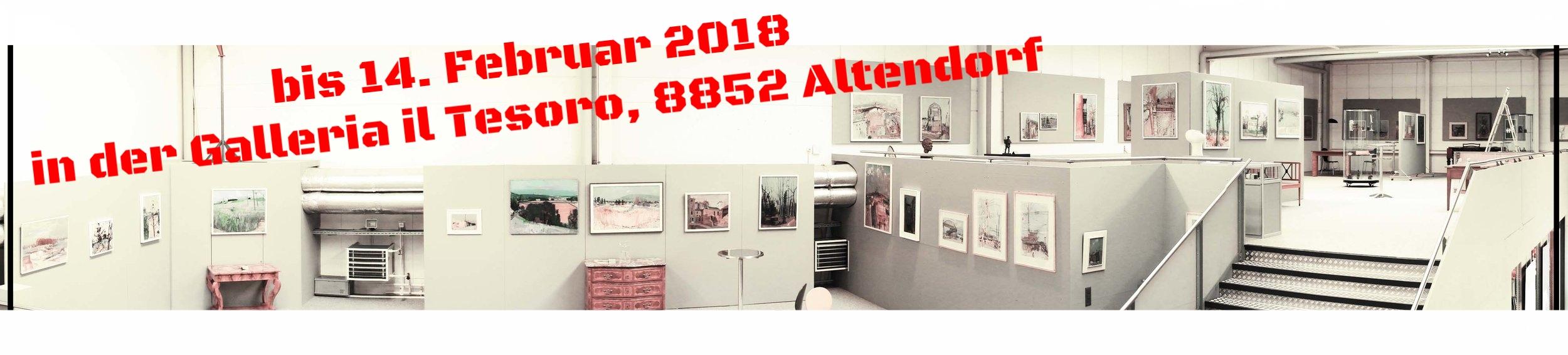 Unsere Exposition in der Galleria il Tesoro zu  Rudolf Zender (1902 Rüti - Winterthur 1988).