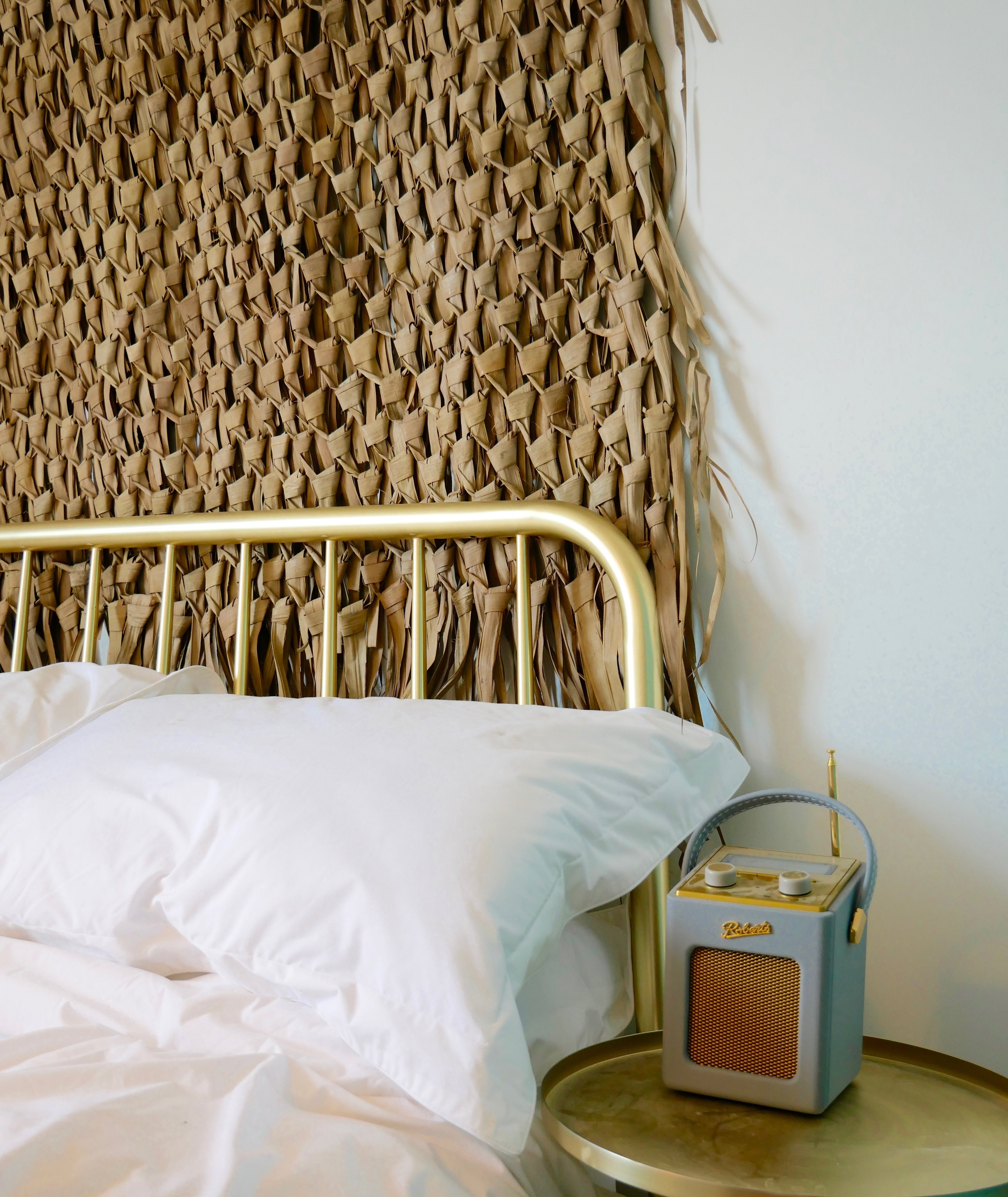 Bedroom Space - Two en-suite bedrooms are available for shoots. Luna has sea views and a roll top bath. Helios is inspired by the Greek islands with white linens, natural materials and plenty of sunlight.