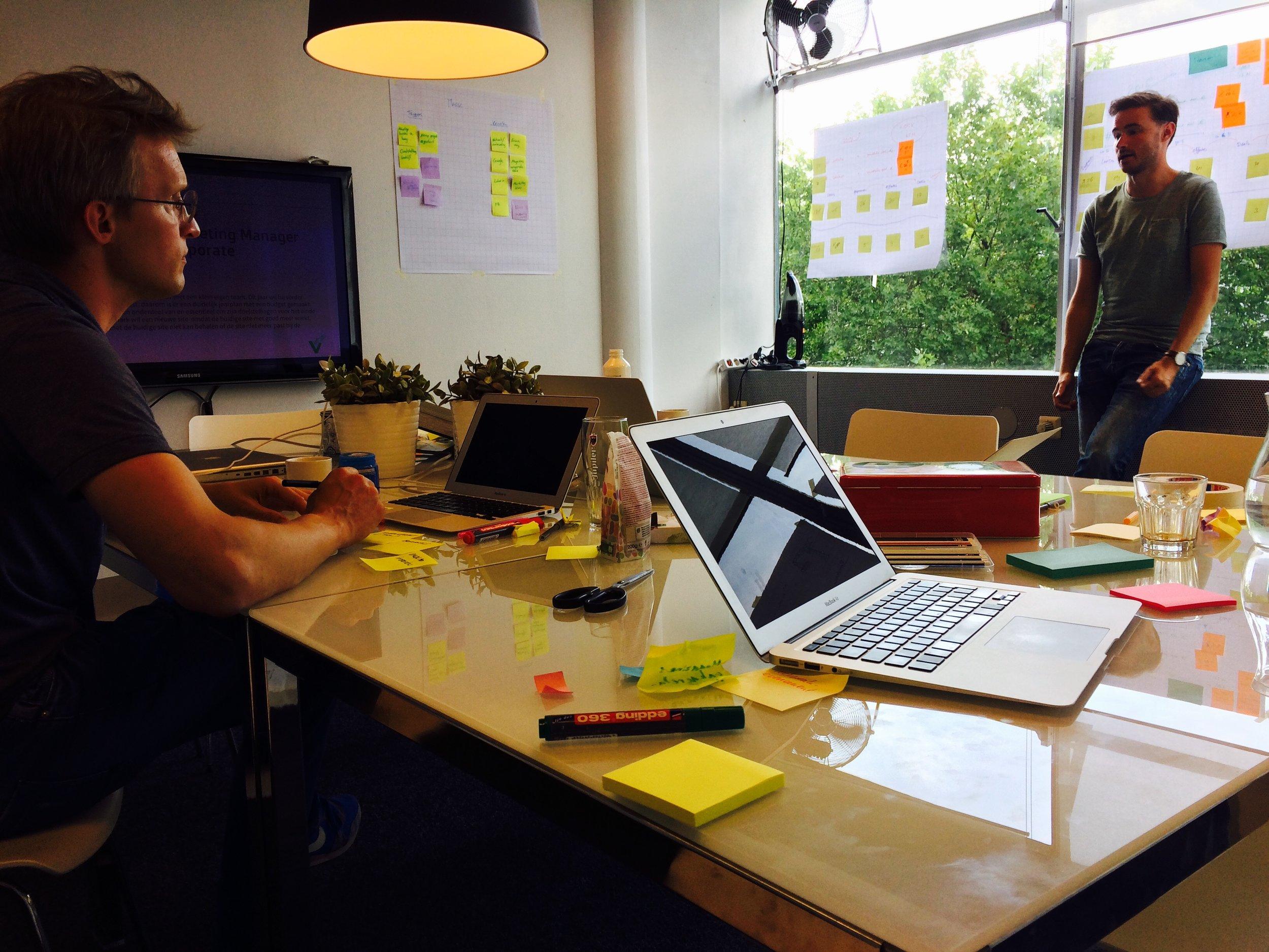 Design Thinking workshop Proposition Hero