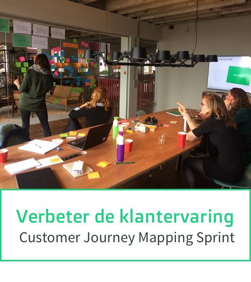 Verbeter de klantervaring - Customer Journey Mapping