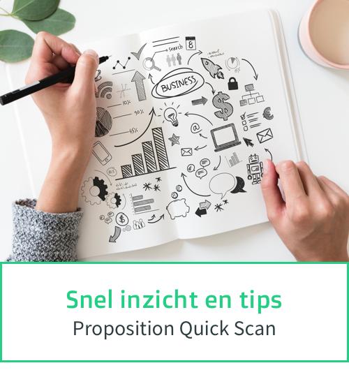 Snel inzicht en tips over jouw propositie - Proposition Quick Scan