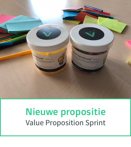Nieuwe propositie ontwikkelen - Value Proposition Sprint