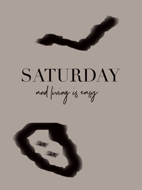 Saturday thoughts by Phylleli. This one is just to wish you a good Saturday and to make the most out of it. Remember, it is the little things in life that cause the greatest happiness like sleeping in, enjoying a long breakfast, fun activities with friends and family. Well, you get the idea, right? So, enjoy your Saturday. #saturday #minimalism #graphicdesign #designer #freelancer #workwithme #weekend