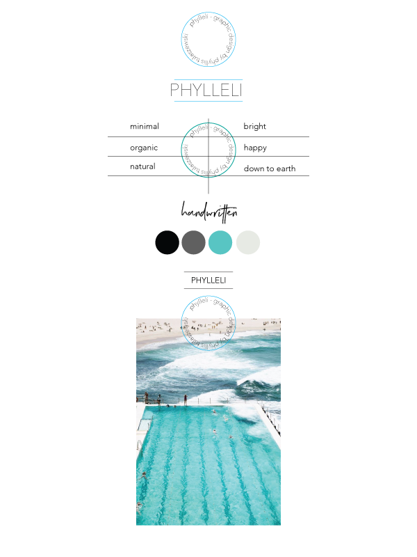 Phylleli Branding Process. Still working on it but I wanted a share the color palette and key words with you so far. #branding #designer #design #graphicdesign #phylleli