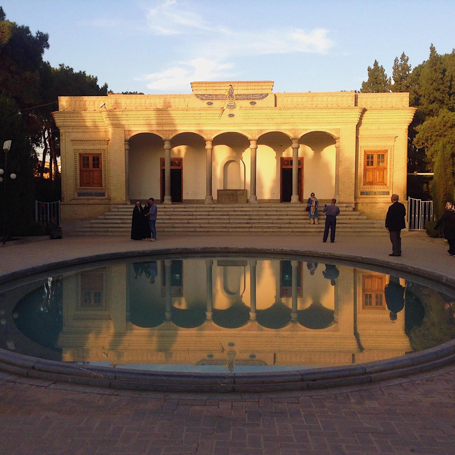 Zoroastrian fire temple in Yazd, Iran