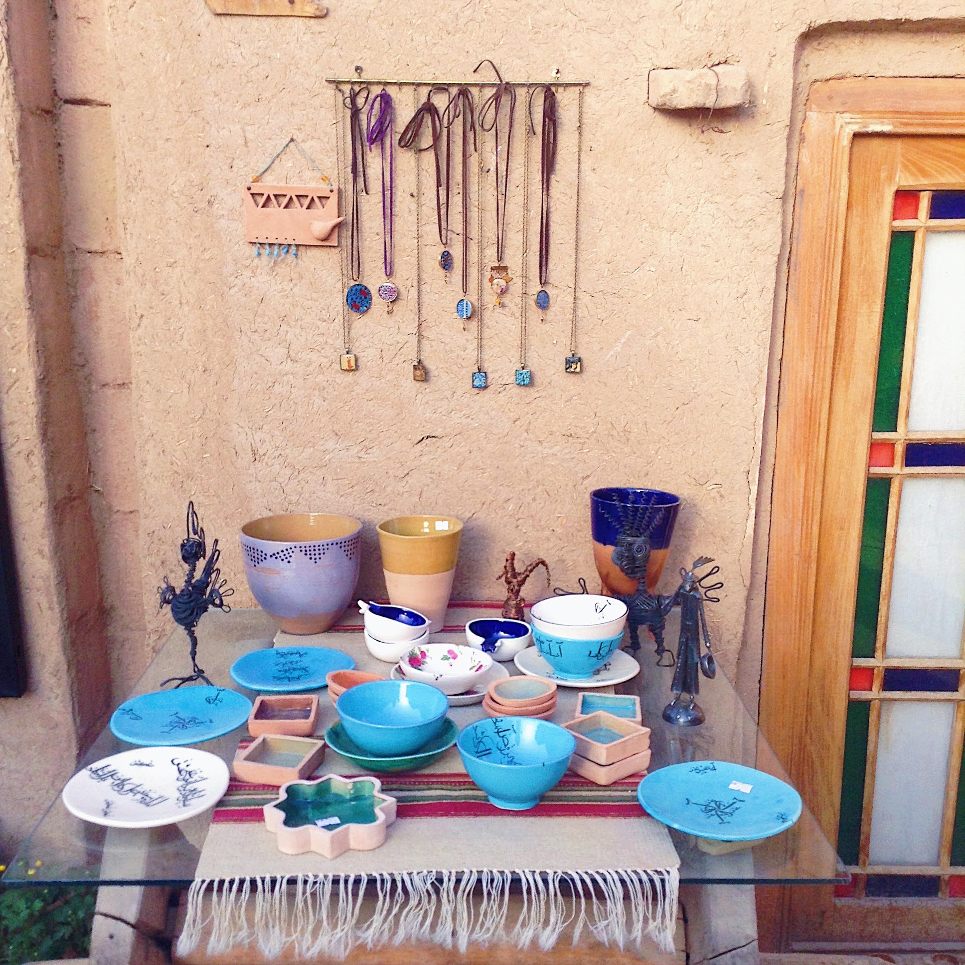 Artwork in Yazd