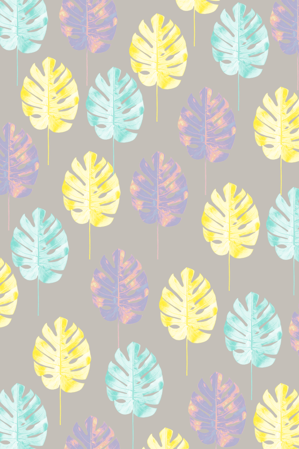 #pattern #tropicalleaf #phylleli #graphicdesign #design