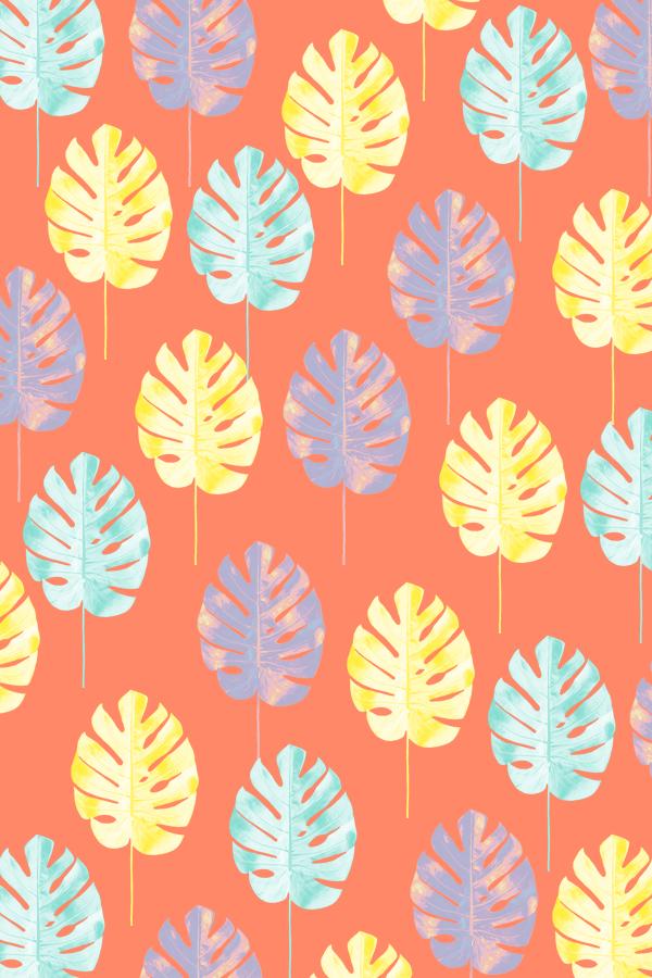 #tropicalleaf #phonebackground #pattern #phylleli #graphicdesign #design #summervibes