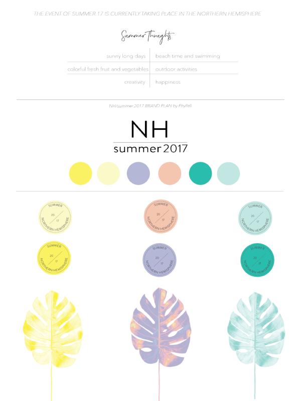 Summer 2017 Brand Plan by Phylleli #design #brandplan #branding #graphicdesign #designer #personalproject #onlinebranding #logodesign #colorpalette #summer2017 #creativity #typography #minimalism