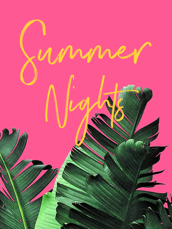 #summernights #summergraphic #phylleli #blogger #graphicdesigner #graphicdesign #summerdesign #vibrantcolors