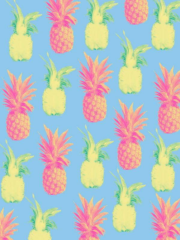 #downloadablewallpaper #pineapple #phonebackground #patterndesign #graphicdesign #graphicdesigner #summer #summergraphic #vibrantcolors