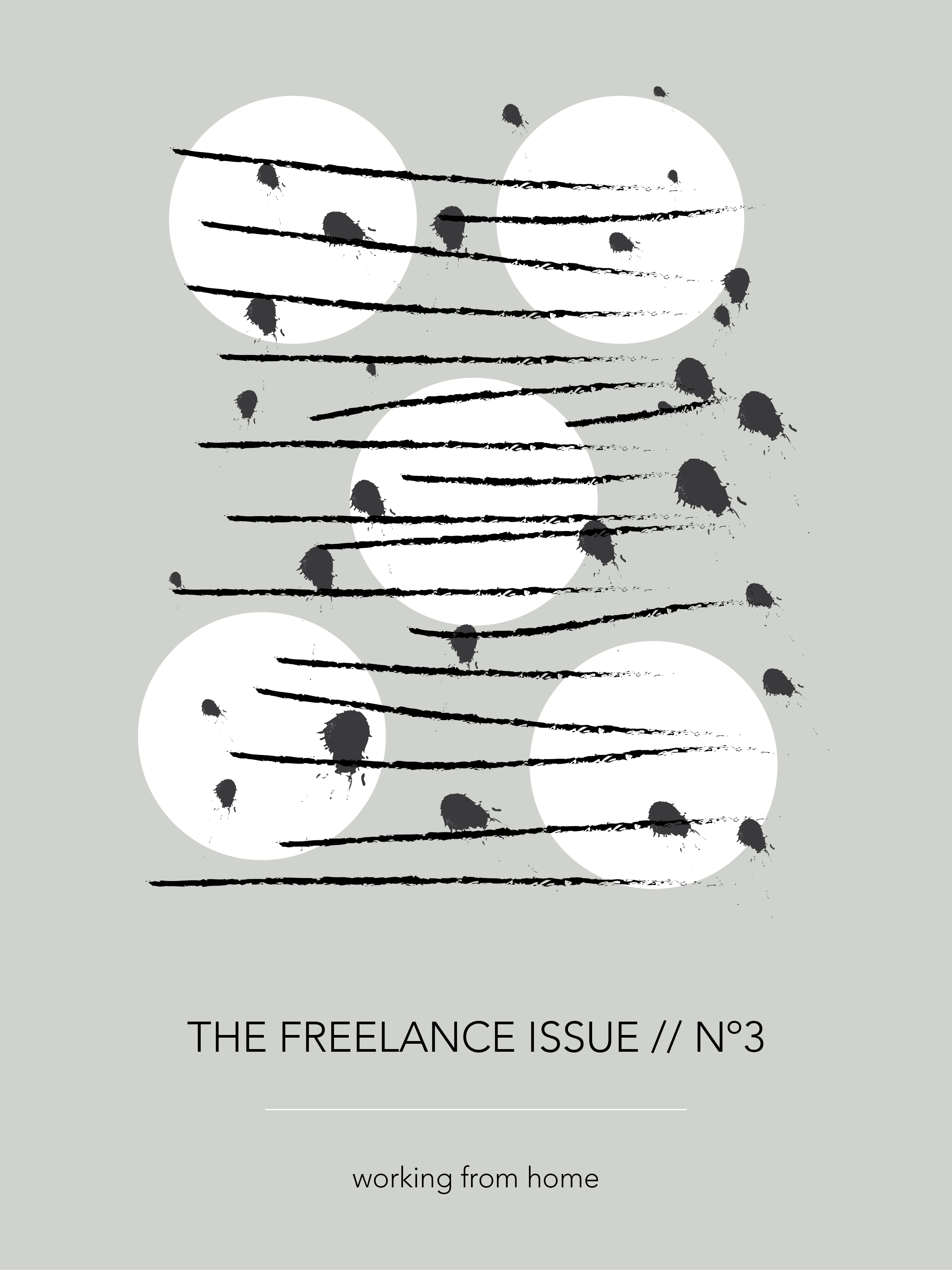 The Freelance Issue No. 3 - Working from Home, by Phylleli #design #graphicdesign #thefreelanceissue #workfromhome #designer #homeoffice #remoteoffice #freelancedesigner #freelancework