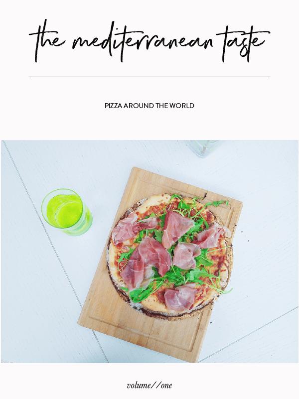 The Mediterranean Taste by Phylleli #pizza #foodmagazine #graphicdesign #design #editorialdesign #minimalism #photography #typgography #foodie #fortheloveoffood #workwithme #freelancedesigner