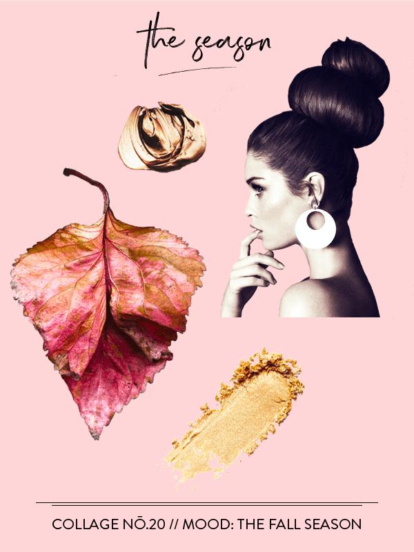 Collage No. 20 // The Collage Series by Phylleli #collage #design #thecollageseries #fall #theseasonfall #autumn #september #goldenlight #artdirection #editorialdesign #layout #freelancedesigner #minimalism #fashion #magazinestyle #freelancedesigner #branding #artdirection