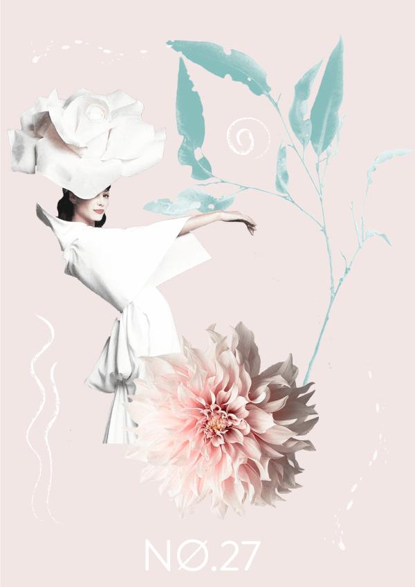 Collage No. 27 // Pastel Mood #design #graphicdesign #thecollageseries #freelancedesigner #editorialdesign #artdirection #softtones #phylleli #magazinestyle #nature #flowers #fashion