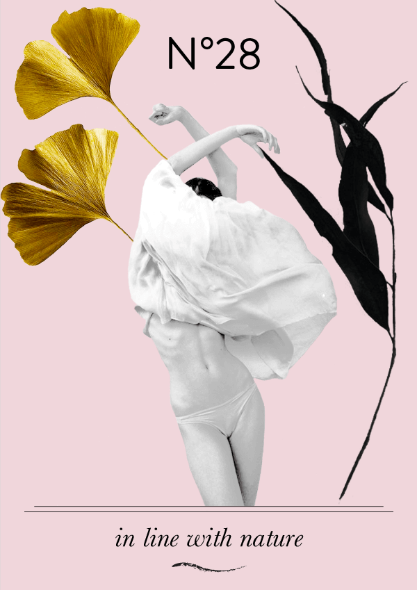 Collage No. 28 // In Line with Nature by Phylleli #collage #thecollageseries #design #designblog #freelancedesigner #freelancer #graphicdesign #graphicdesigner #artdirection #editorialdesign #blogger