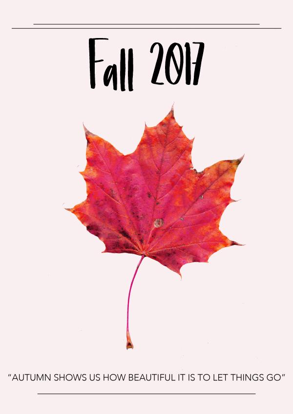 Fall 2017 by Phylleli #design #graphicdesign #editorialdesign #artdirection #botanicals #designblog #seasonschanging