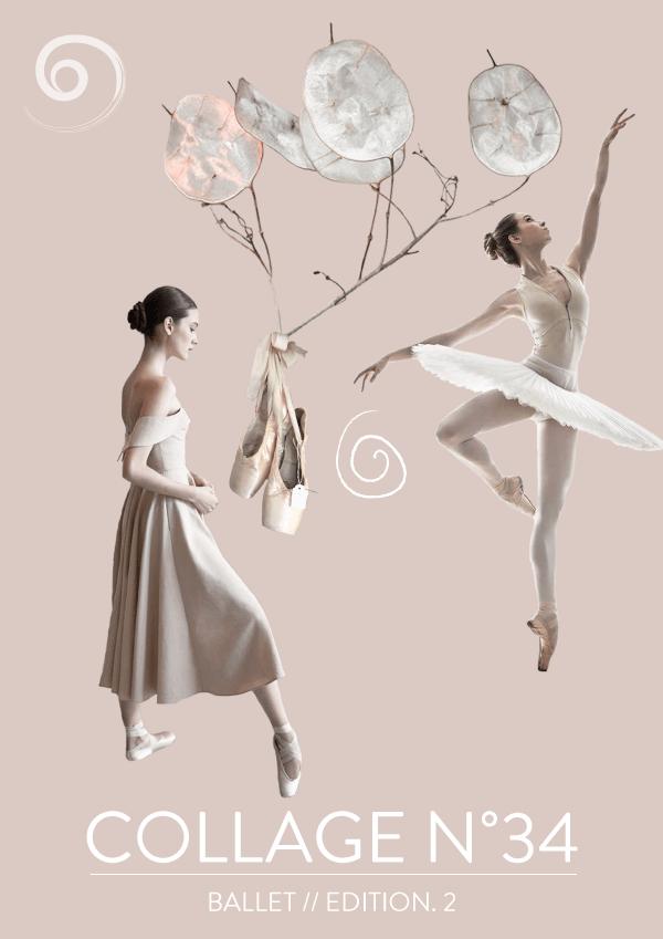 Collage No. 34 // Ballet 2nd. Edition #design #graphicdesign #branding #artdirection #editorialdesign #layout #designblog #blogging #ballet #balletlover #dance #femininedesign