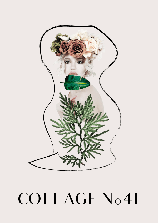 Collage No. 41 by Phylleli #design #graphicdesign #collage #thecolloageseries #editorialdesign #bookcoverdesign #branding #freelancer #designblog