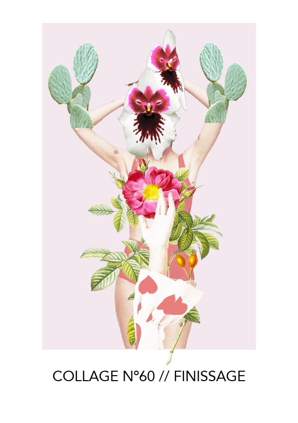 Collage NO. 60 // Finissage #design #graphicdesign #collage #thecollageseris