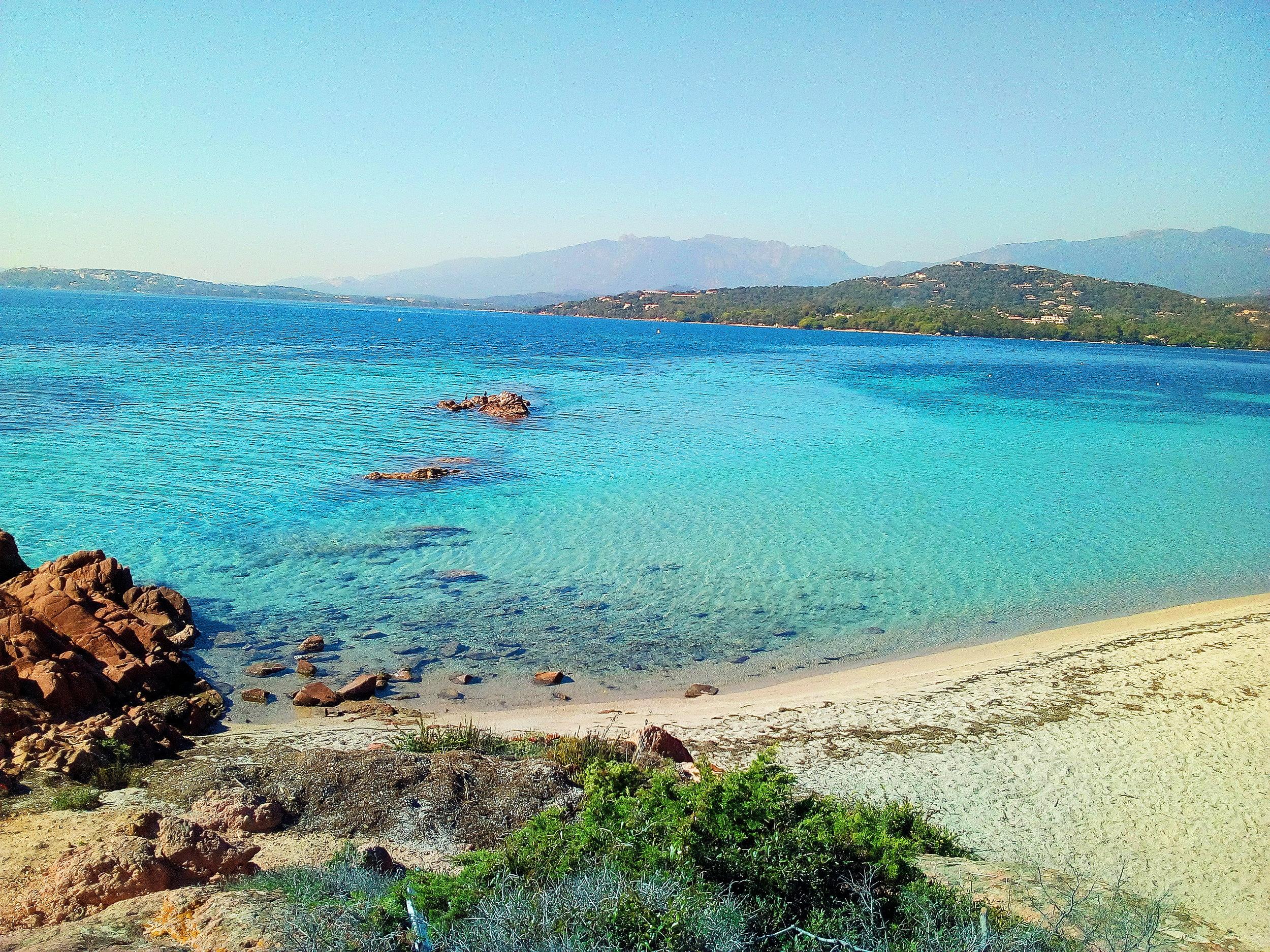 Plage de Bennedettu, Corsica