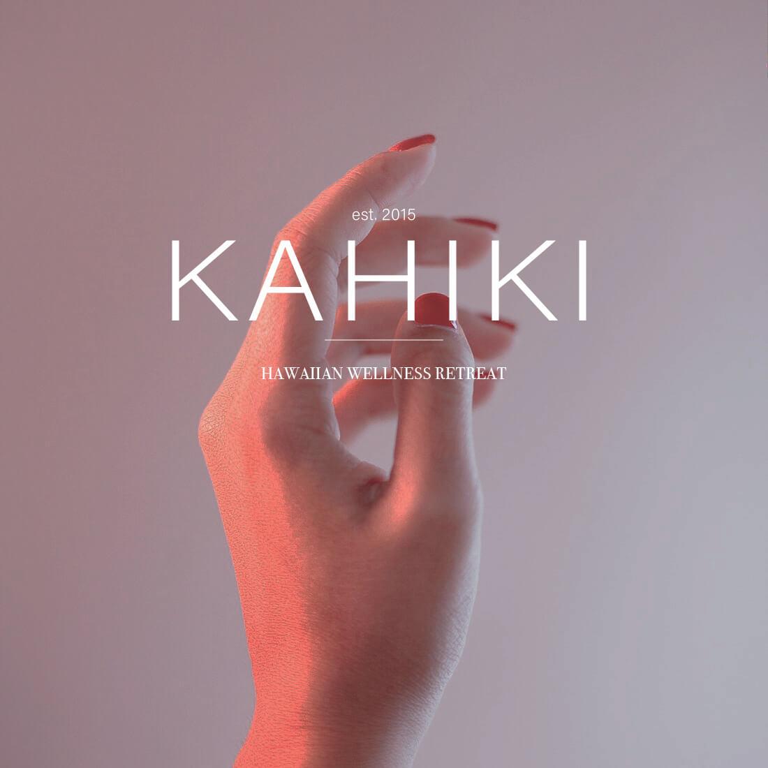 Kahiki Wellness Retreat // by Phylleli #design #branding #logodesign #designblog #typography #wellness
